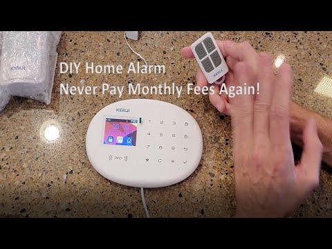 No Fee, Affordable  Home Alarm System