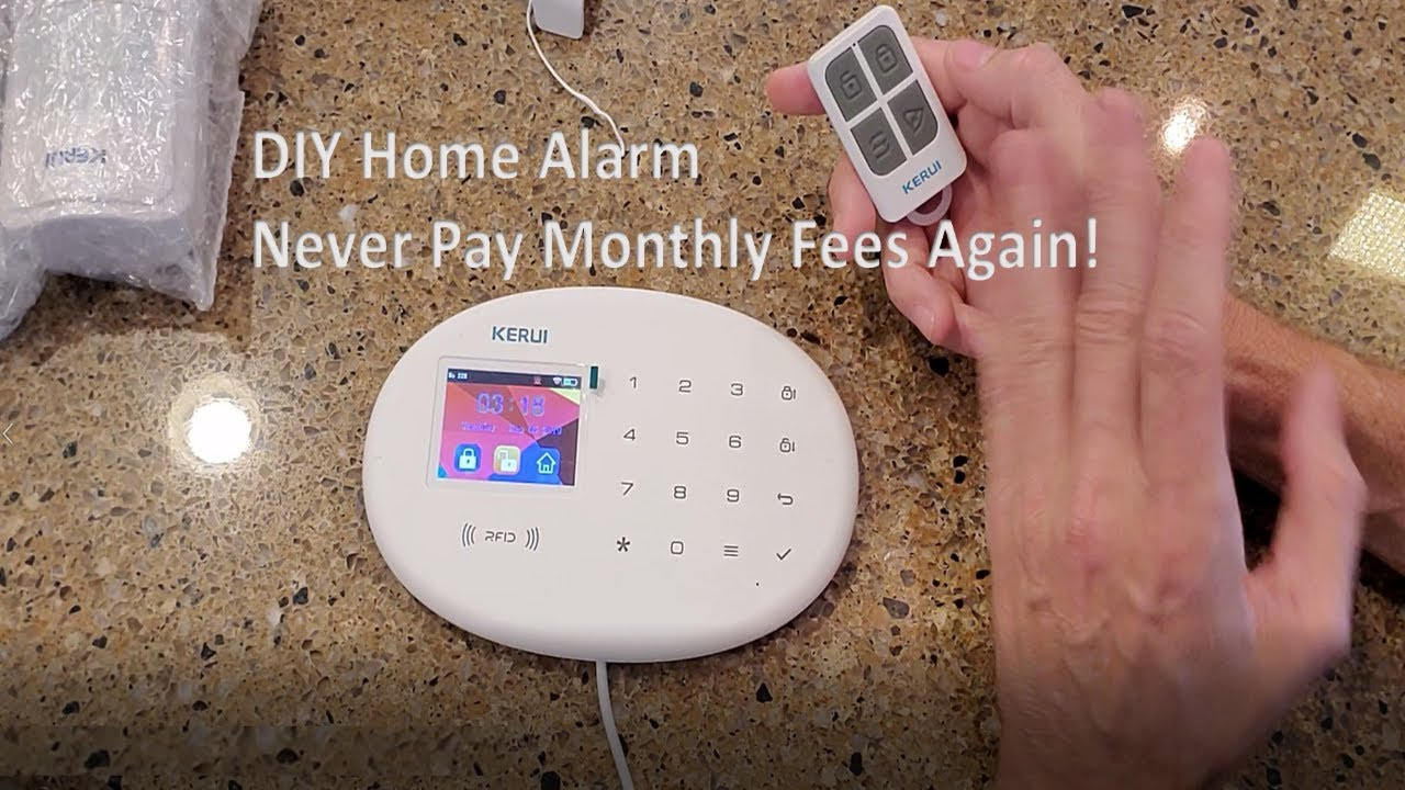 No Fee Affordable Home Alarm System Youtube
