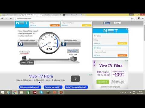 Teste De Velocidade Internet 2MB Vivo São Paulo