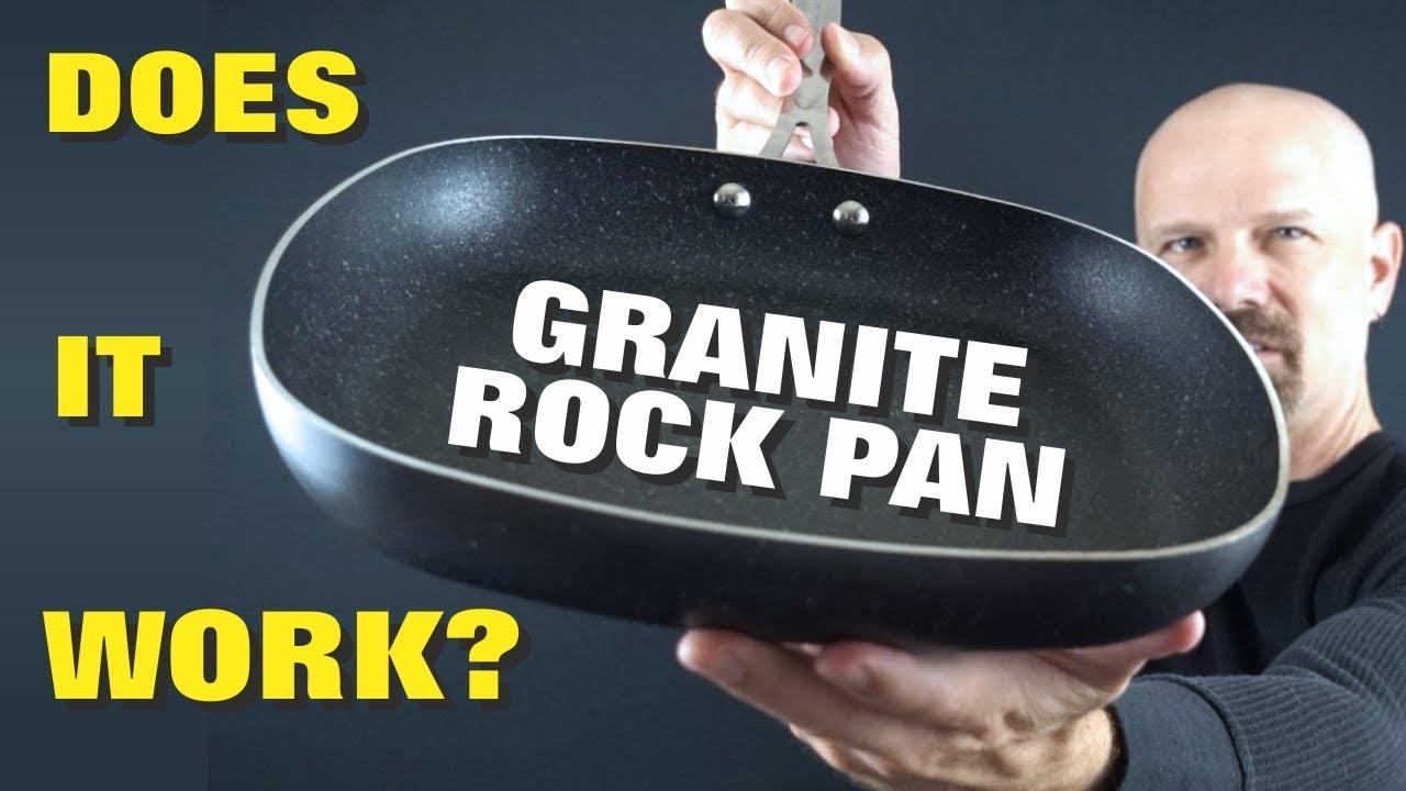 granite rock pan review nothing sticks let 39 s find out youtube. Black Bedroom Furniture Sets. Home Design Ideas