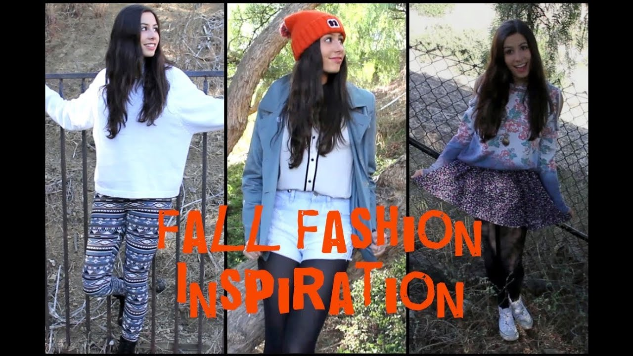 Fall Fashion Inspiration Youtube