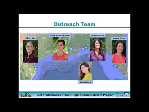 Oil spill science for healthy island communities-Sea Grant Oil Spill Science Outreach Program