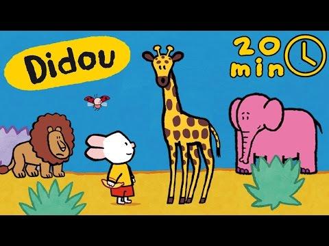 Didou, dessine-moi les animaux d'Afrique | Compilation | Dessins animés pour les enfants