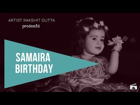 Samaira First Birthday | Artist Rakshit Dutta | Baby Shoot
