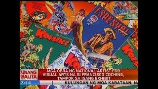 UB: Mga obra ng national artist for visual arts na si Fancisco Coching, tampok sa isang exhibit