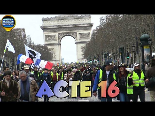 Gilet Jaunes: Acte 16