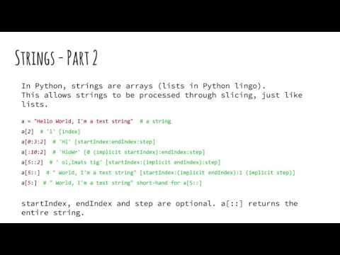 Introduction to Python 2: Data Types (Arabic)