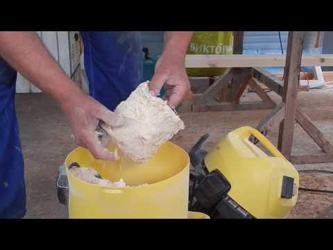 Пылесос  Karcher без мешка для сбора пыли (часть 2)