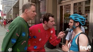 Video Billy on the Street: Christmas with Will Ferrell! download MP3, 3GP, MP4, WEBM, AVI, FLV Juni 2017