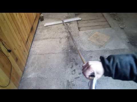 Как сделать гладилку для бетона своими руками