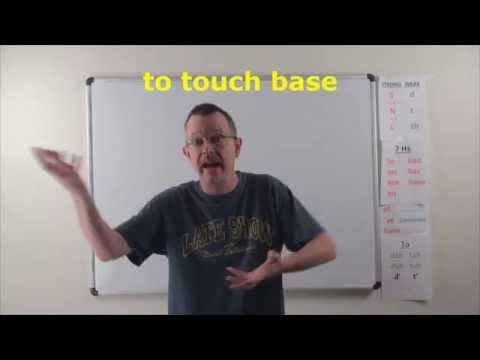 Learn English: Daily Easy English Expression 0774: To Touch Base