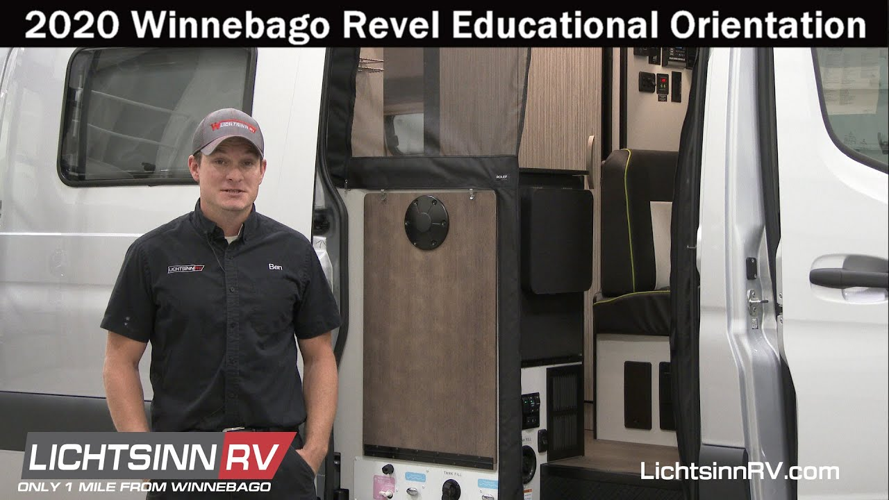 LichtsinnRV com - 2020 Winnebago Revel Educational Orientation