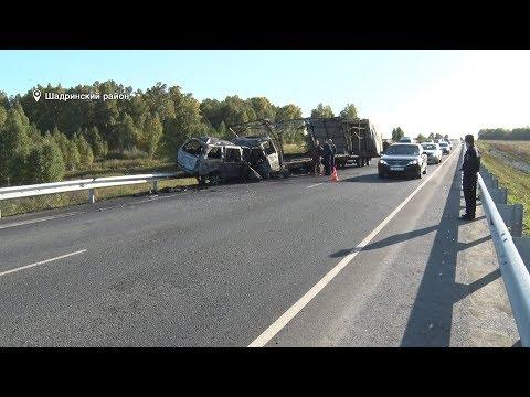 ДПТ на трассе Екатеринбург - Шадринск - Курган (2019-09-10)