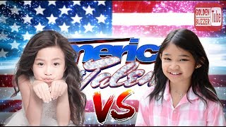Angelica Hale vs Celine Tam | You Raise Me Up