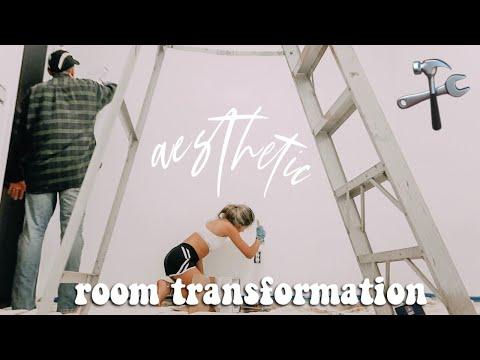 AESTHETIC ROOM TRANSFORMATION