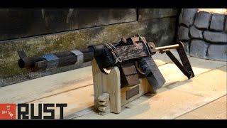 Как сделать полуавтоматическую винтовку из игры Rust - How to make a Semi-Automatic Rifle.(В этом видео буду собирать полуавтоматическую винтовку из игры Rust Experimental, в которую будет вставлен пневмат..., 2016-04-16T05:31:10.000Z)