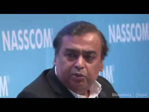 Mukesh Ambani's Joke At NASSCOM India Forum