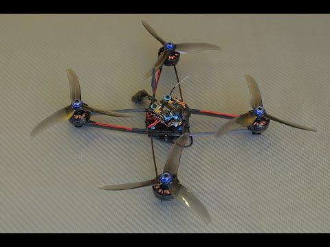"17.62g 5"" ARX Ultralight Frame Concept Maiden Flight"