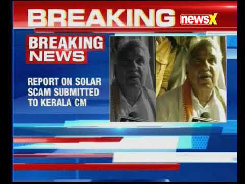 Report on Solar Scam submitted to Kerala chief minister Pinarayi Vijayan