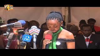 Mazishi ya Ivy Wangeci:  Mwanafunzi wa udaktari azikwa Nyeri
