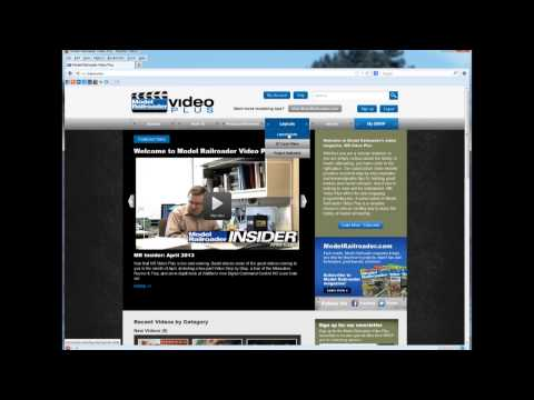 The Dog Ate my Video - Reviews of Kalmbach's 75 Year Anniversary DVD and new MRVideo Plus Website