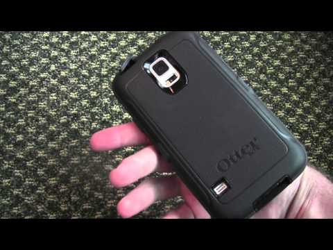 on sale f7b0f 555f0 Galaxy S5 OtterBox Defender Case Review - YouTube