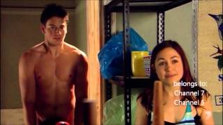 H&A 5707 Kyle Braxton 1 and Brax walk in on naked Casey
