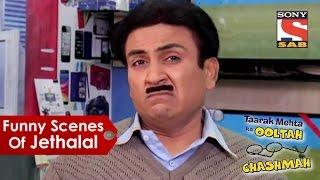 Funny Scenes Of Jethalal   Taarak Mehta Ka Oolta Chashma