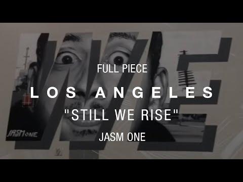 Los Angeles Maya Angelou Mural Festival - Art Piece - JASM ONE