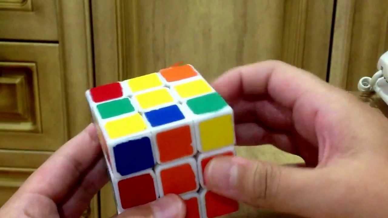 魔術方塊教學-3x3基本解法 - YouTube