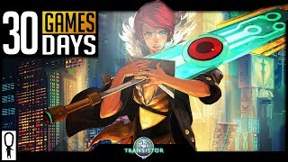 Transistor Impressions - CYPERPUNK BASTION-ESQUE - 30 Games in 30 Days (9/30)