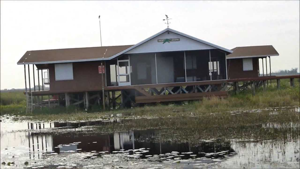 Everglades hunting camps youtube for Fish camps for sale in florida