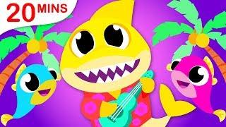 Baby Shark Band, Humpty Dumpty, Little Mermaid Princess, Potty Song, Nursery Rhymes by Little Angel