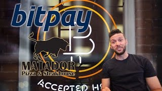 How To Accept Bitcoin as a Merchant - feat. Bitpay & Matador Pizza
