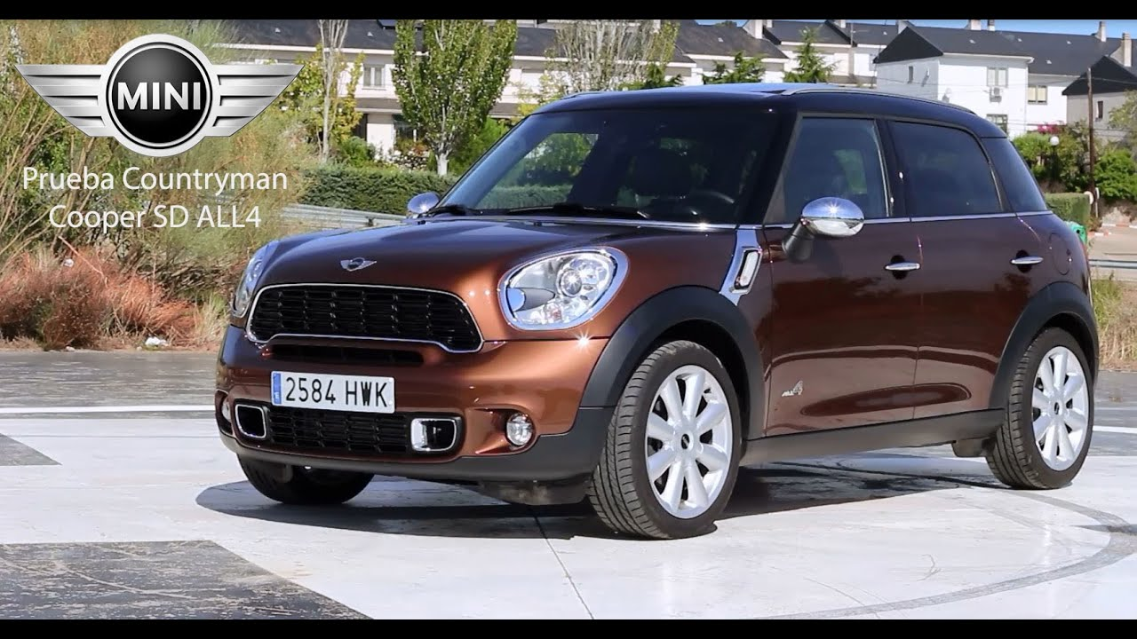 mini countryman cooper sd all4 prueba a fondo fullhd youtube. Black Bedroom Furniture Sets. Home Design Ideas
