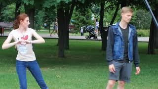 зо июня 2018 Тамбов Городской сад.Актёры ТМТ  Ромео и Джульетта