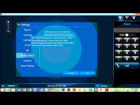 Configuring Polycom Videoconferencing Software