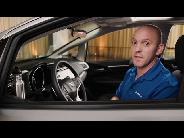 2017 Honda Fit Tips & Tricks: Cup Holders