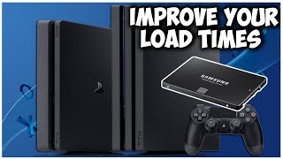 HOW TO IMPROVE YOUR LOAD TIMES ON PS4 PRO/SLIM | QUICK GUIDE TO INSTALL A SSD