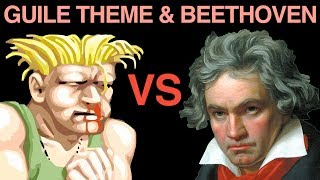 Repeat youtube video Street Fighter's 5th: Guile's Theme Vs. Beethoven (iTunes link below!)