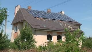 видео сонячні панелі