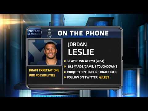 Jordan Leslie Full Interview   Apr 29, 2015