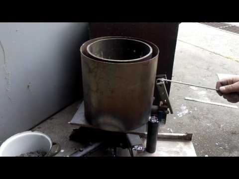 Lead smelting furnace