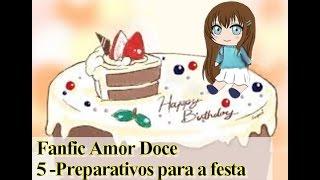 Fanfic Amor Doce -Episódio 5 -Preparativos para a festa [Castiel]