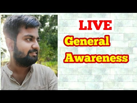 Live Class: General Awareness//GA-GK// By Lokendra Mishra