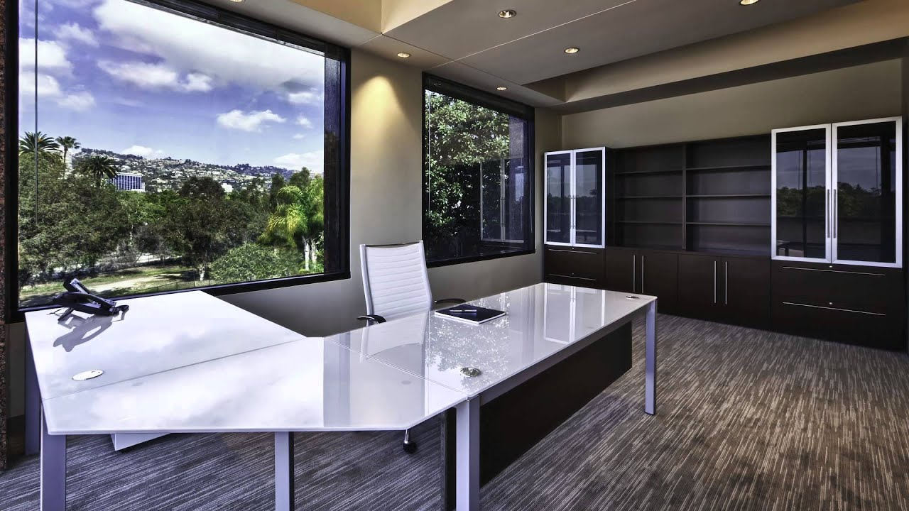 Modern Office Furniture in Los Angeles - YouTube