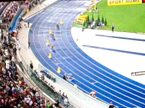 Athletics: World Championship Mens 4x100m Heat 3