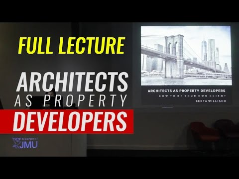 Architects As Property Developers - Berta Willisch