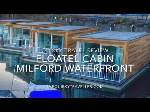 Quirky Travel Review: Floatel Cabin at Milford Waterfront Marina #Pembrokeshire #Wales