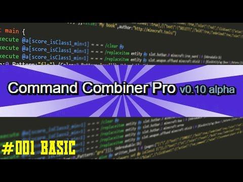 Command Combiner Pro Tutorial #001 Basic